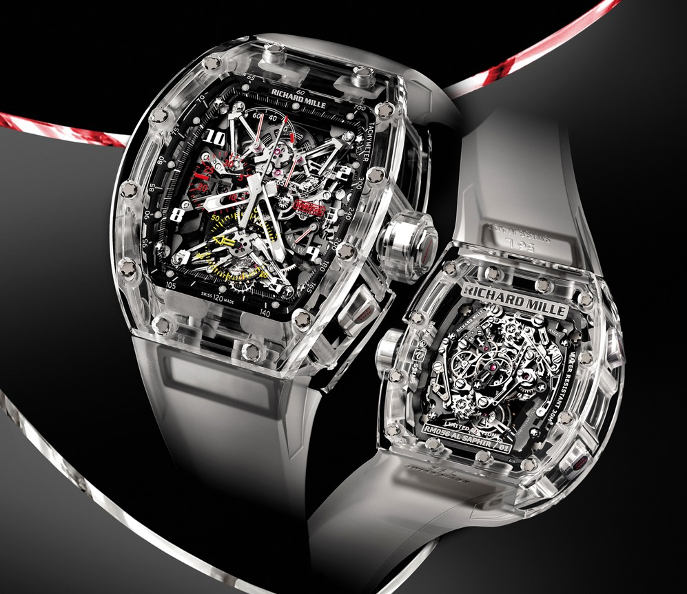 "Richard Mille RM 056 is dubbed by Mr Mille himself as ""The Ghost"""