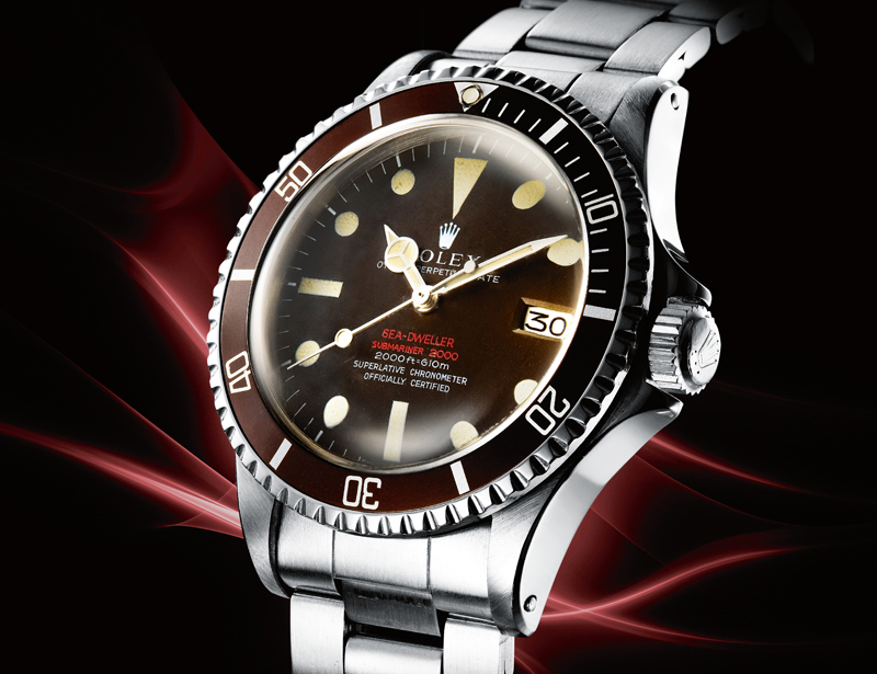 Rolex first produced 'double red' Sea Dweller / Submariner 2000's during the fourth quarter of 1967 and into 1968.