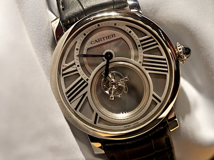 Cartier Mystery Tourbillon