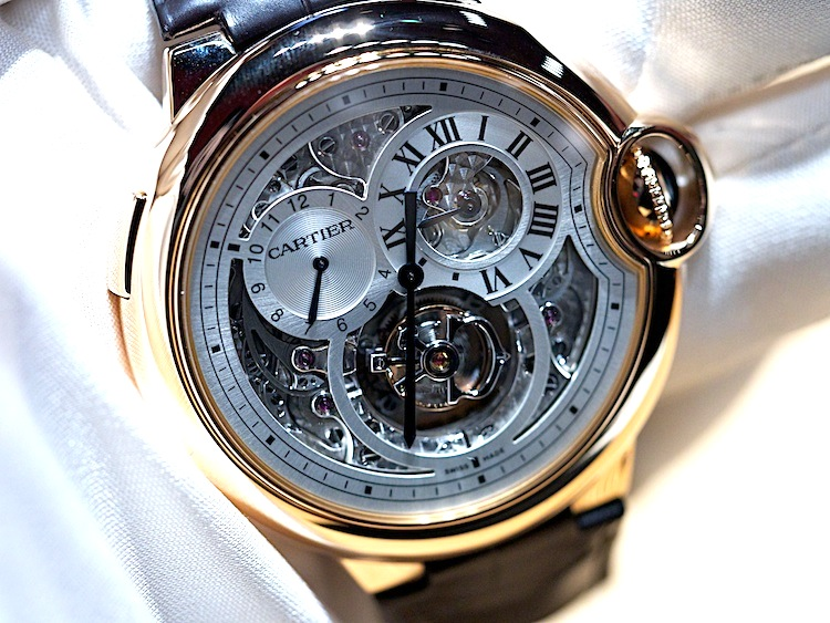 Cartier Double Jumping Second Time Zone