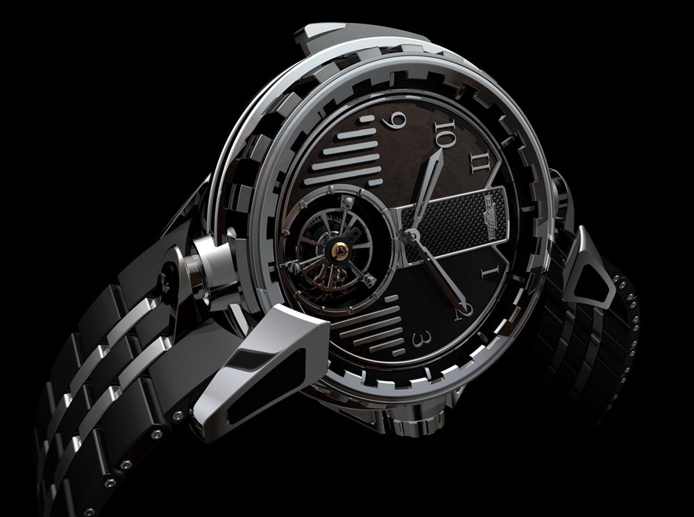 The DeWitt Antipode with minute repeater functions.
