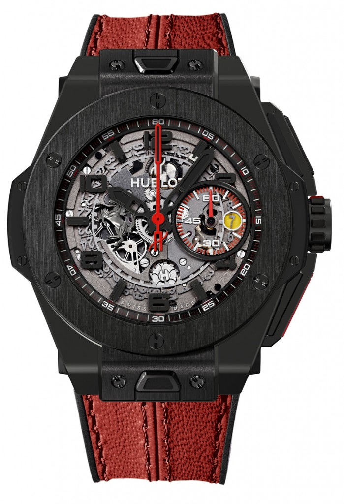Hublot Big Bang Ferrari Red Magic Carbon 2