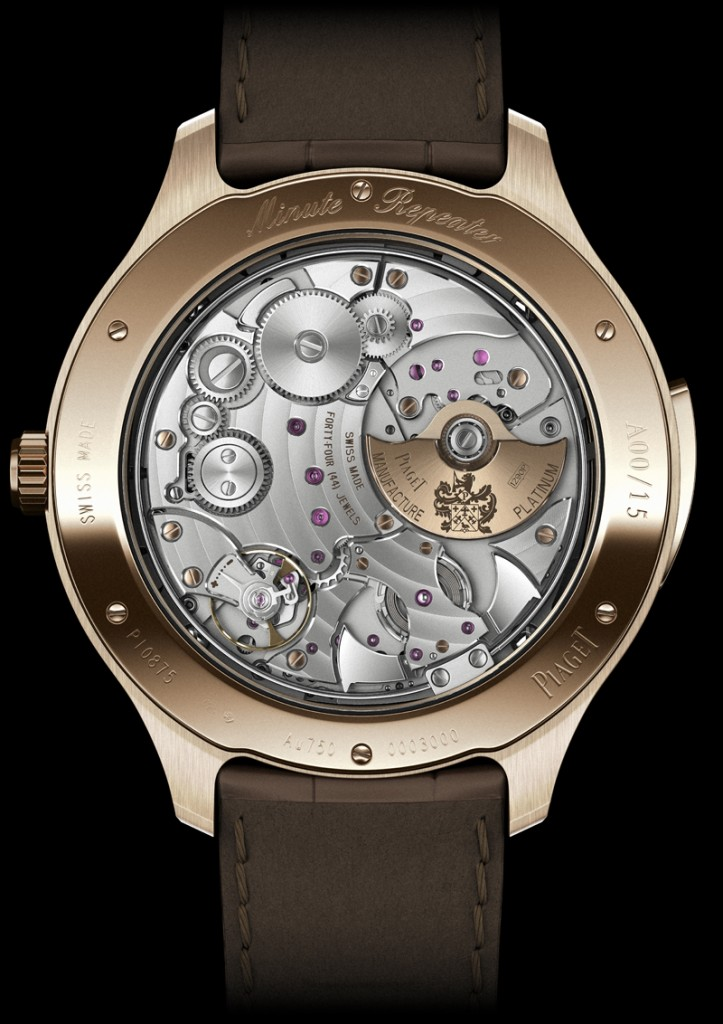 SIHH 2013 preview- Piaget Emperador Ultra-Thin Minute Repeater 4