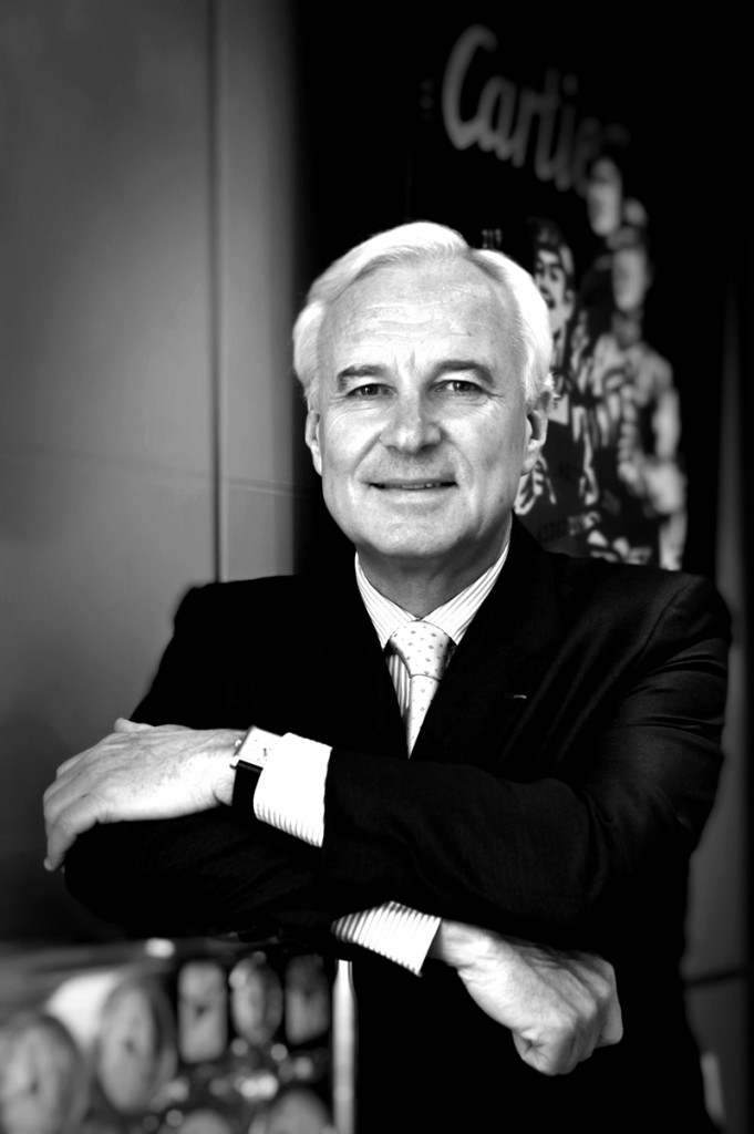 Bernard Fornas, CEO of Cartier.