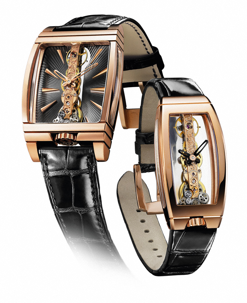 corum signs vincent calabrese- golden bridge watches