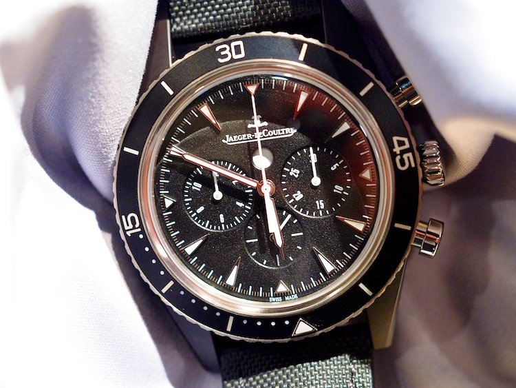 Jaeger Le Coultre Deep Sea Chronograph Cermet