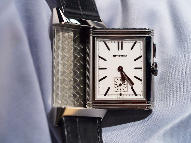 JLC Grande Ultra Thin Reverso Duo 2013