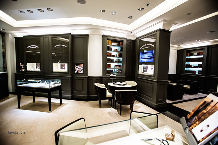 A Lange & Söhne Singapore ION Orchard Boutique Interior