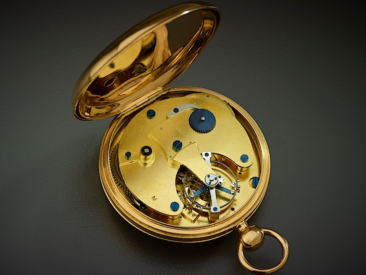 Gold Pocket Watch with Tourbillon, c. 1822 (detail)