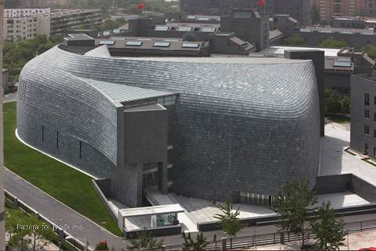 the Beijing Cafa Art Museum.