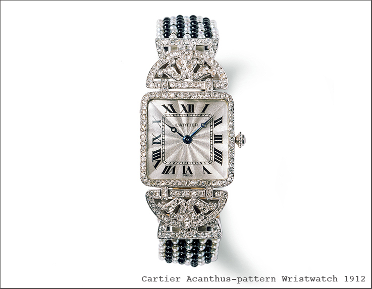 Acanthus-patternWatchCartier1912