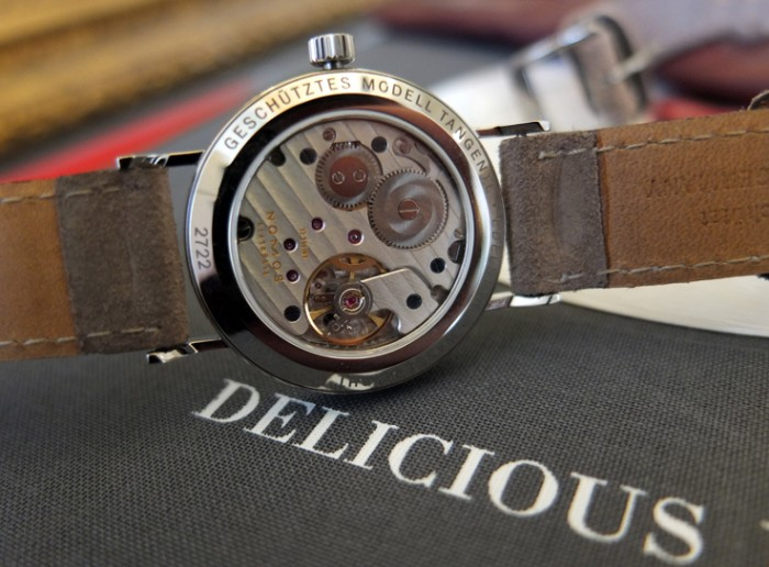 Nomos Caliber Alpha; Delicious indeed!