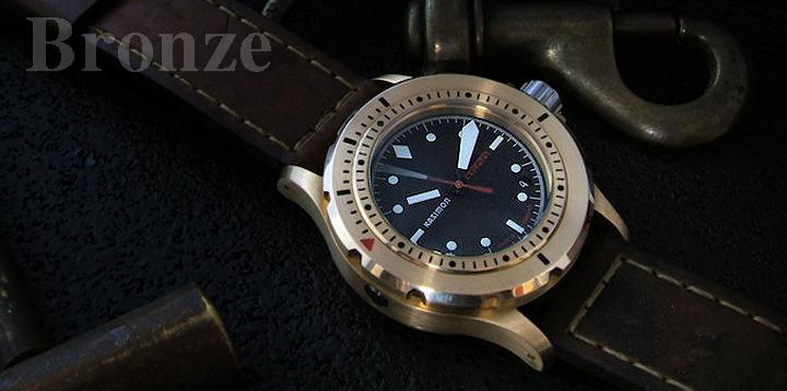 The return of the bronze watch revolution - Bronze dive watch ...