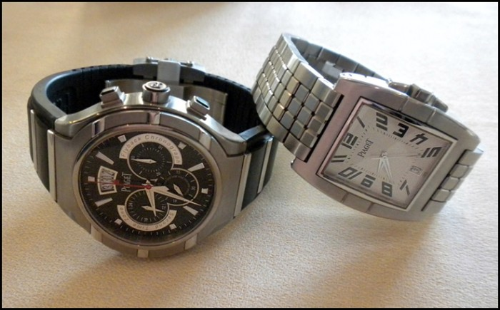 Piaget's FortyFive Chronograph and Upstream