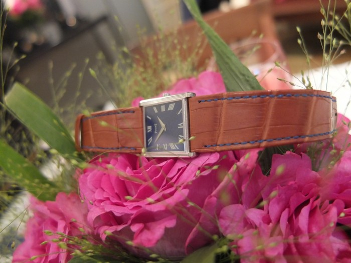 Piaget men's watch with Lapis Lazuli dial and caliber 9P on Yves Piaget Rose