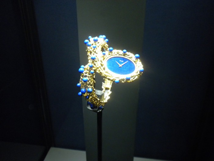 Stunning watch by Piaget at one of their earlier exhibition in the Time Gallery