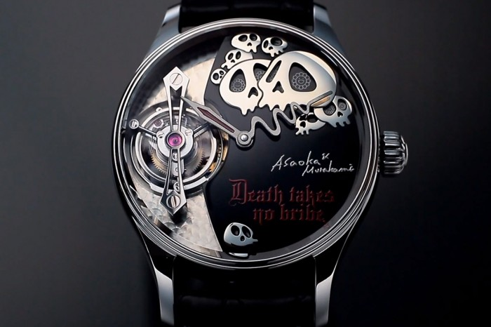 Skulls, art and high end watchmaking seem to be a perfect fit
