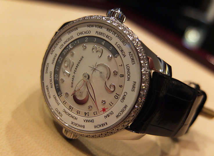 Breaking through the vacuum; Girard Perregaux WW.TC Lady