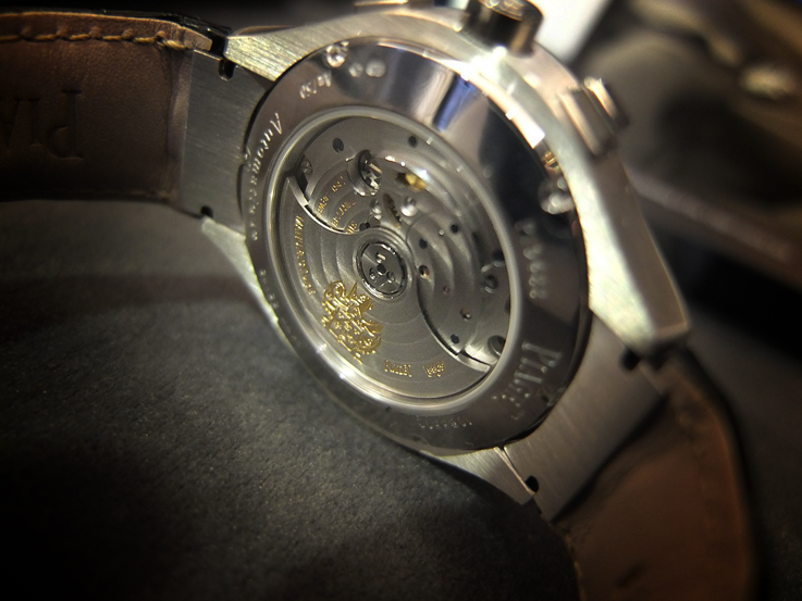 Piaget Polo Chronograph back