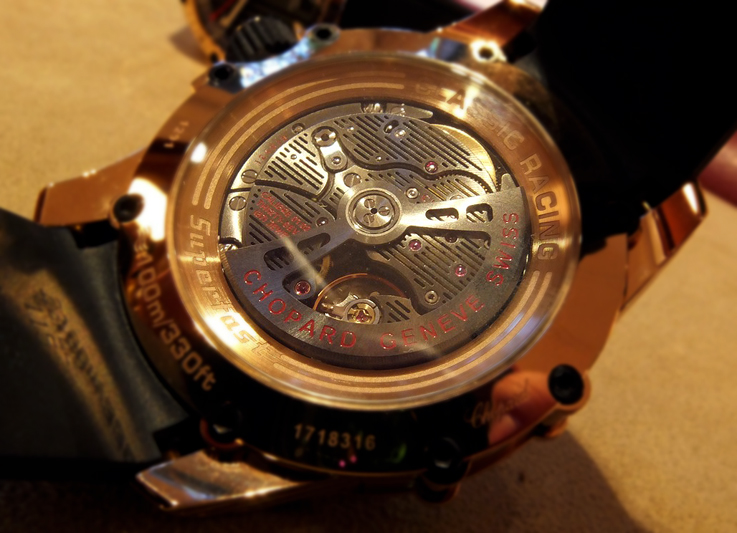 Chopard Superfast movement