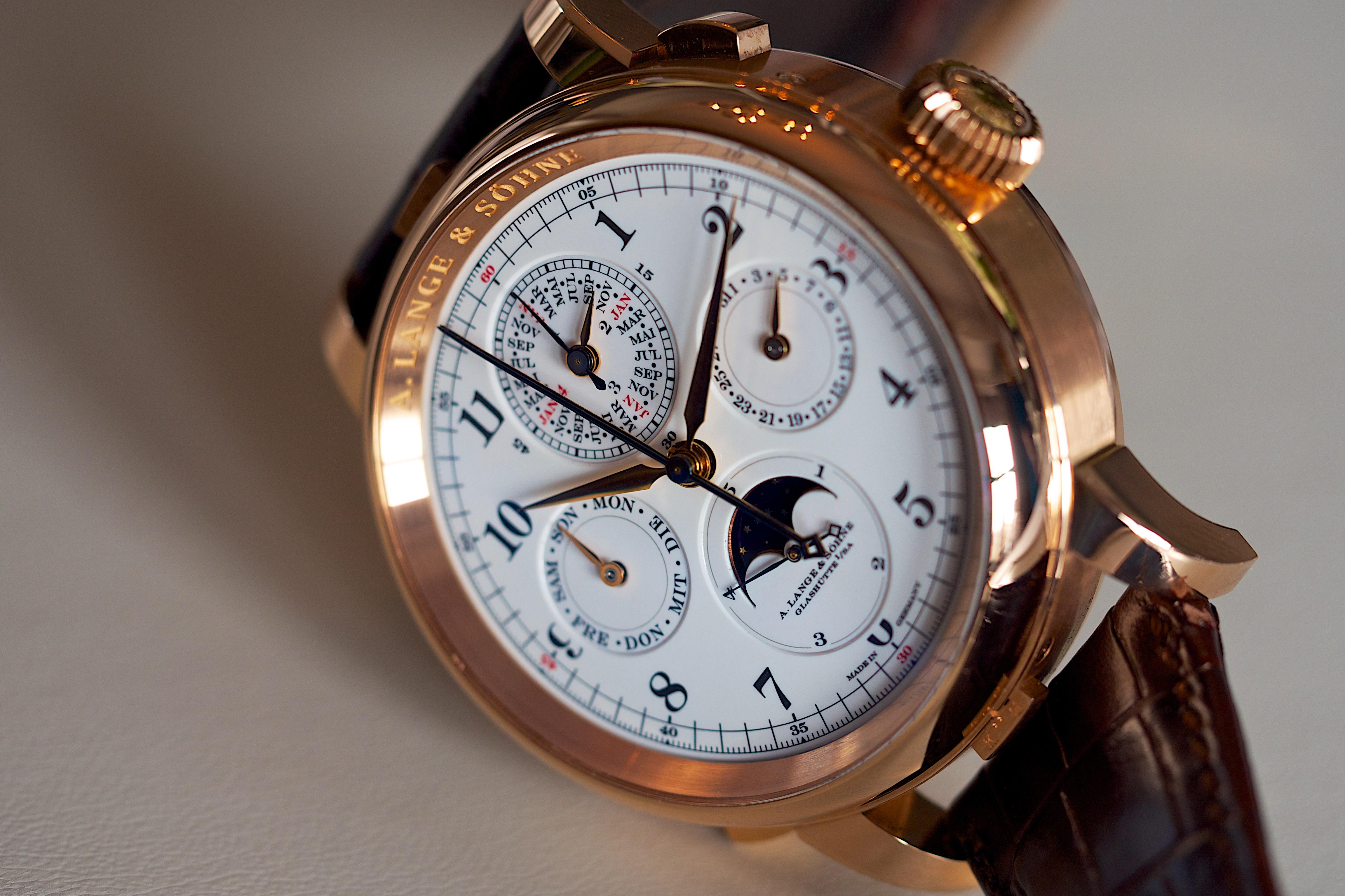 Image result for Lange & Söhne Grand Complication