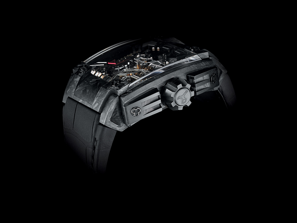 Rebellion 540 magnum tourbillon case