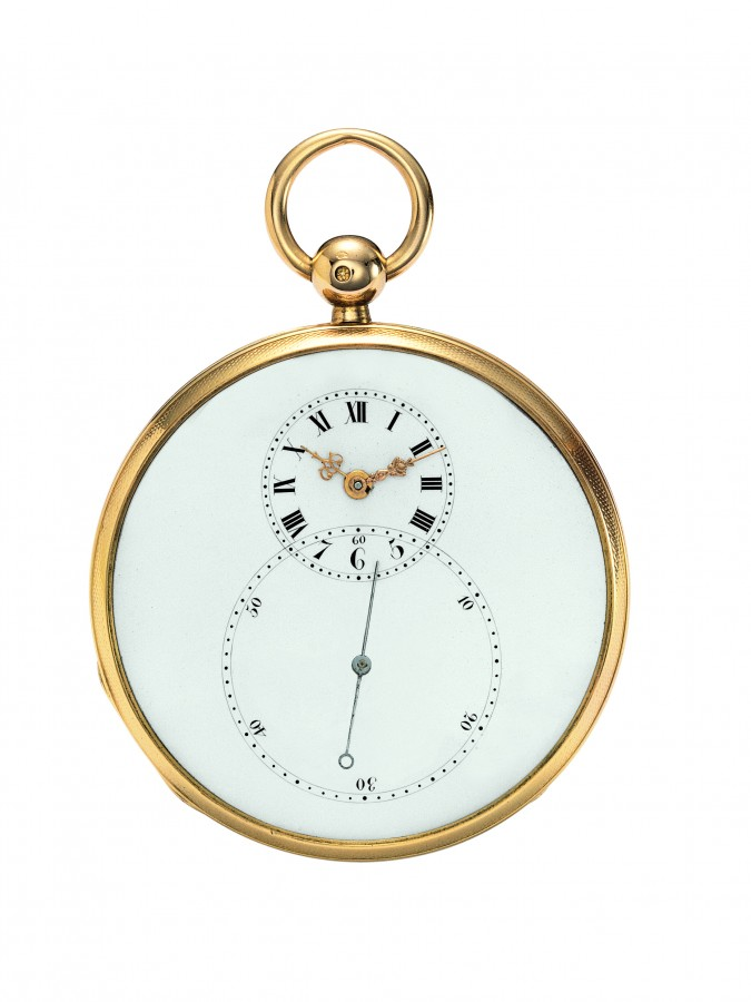 Jaquet Droz Grande Seconde Pocket Watch