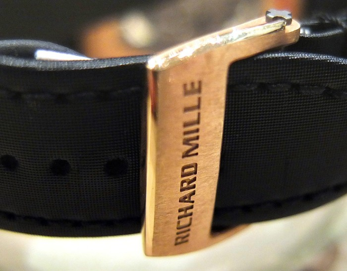 Richard Mille RM16 clasp