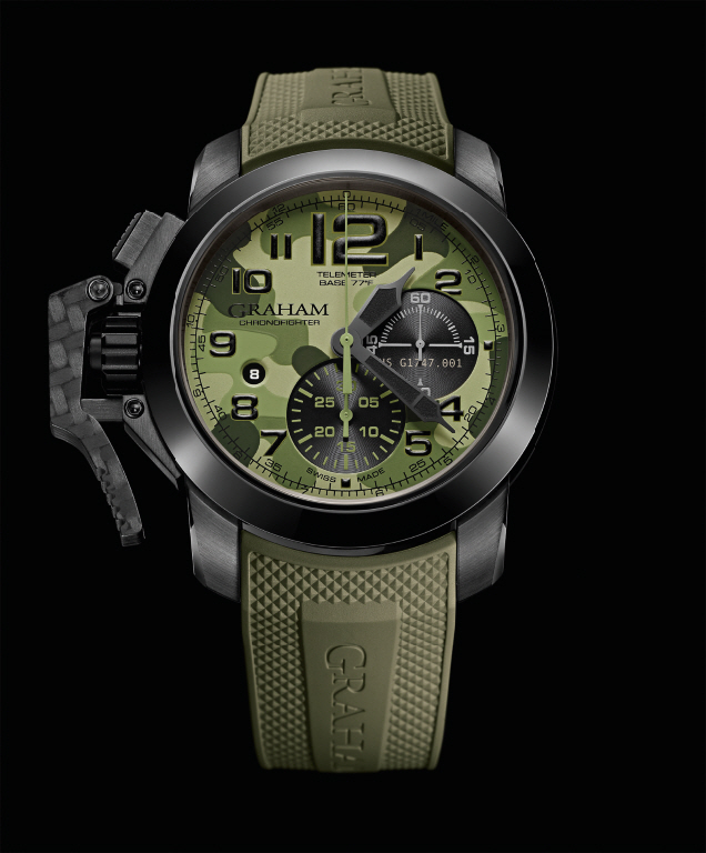 GRAHAM Chronofighter Oversize Black Arrow_jungle_lr