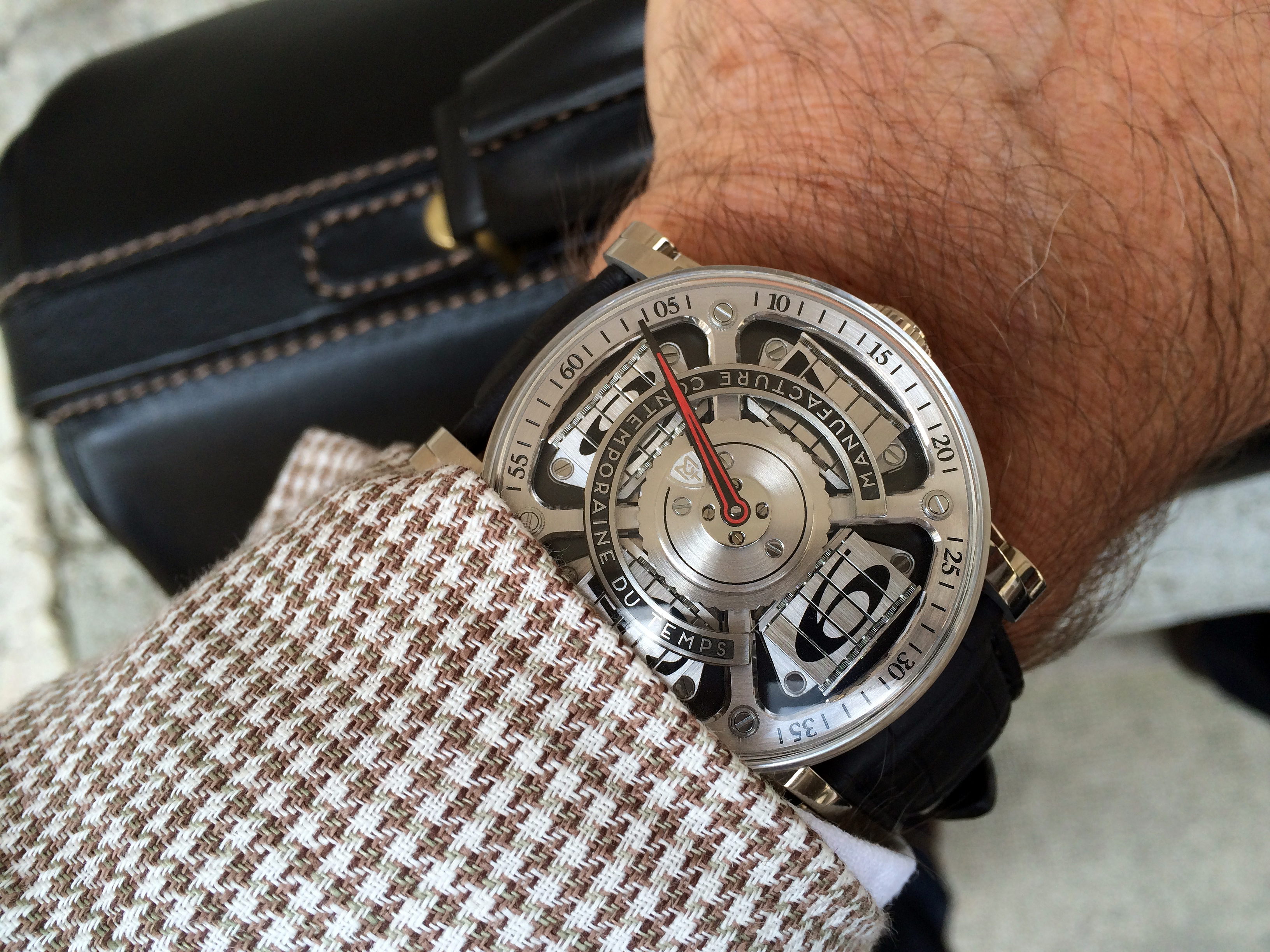 mechanical watches two outside airport revolution magic mct sequential
