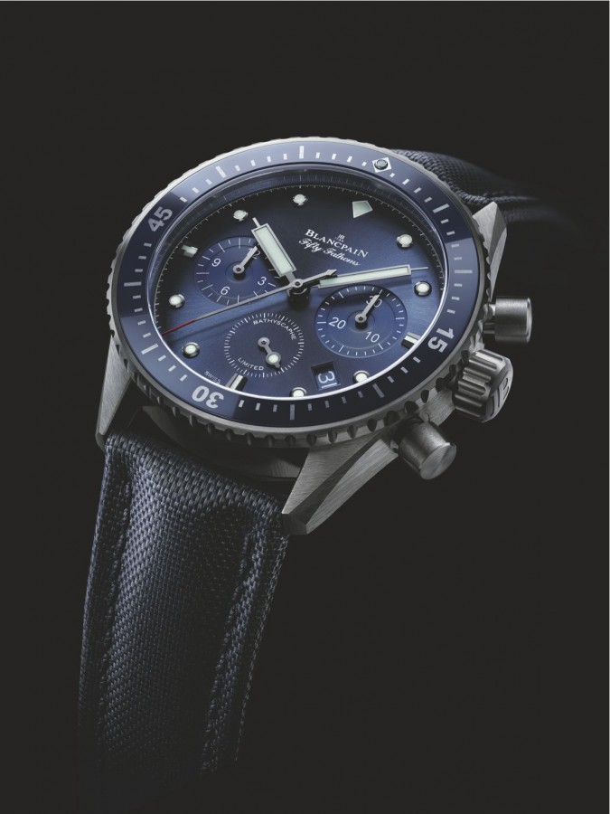 The Blancpain Fifty Fathoms Ocean Commitment Bathyscaphe Flyback Chronograph