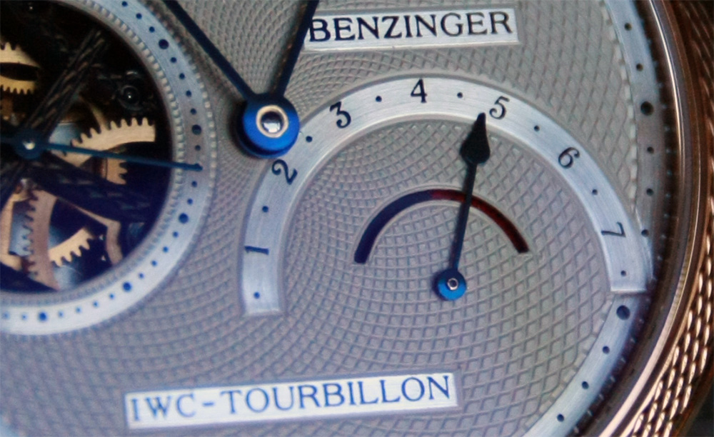 Benzinger power reserve