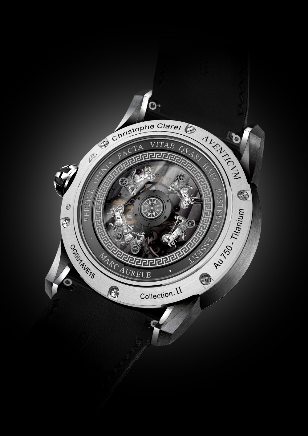 Christophe Claret Aventicum in White Gold
