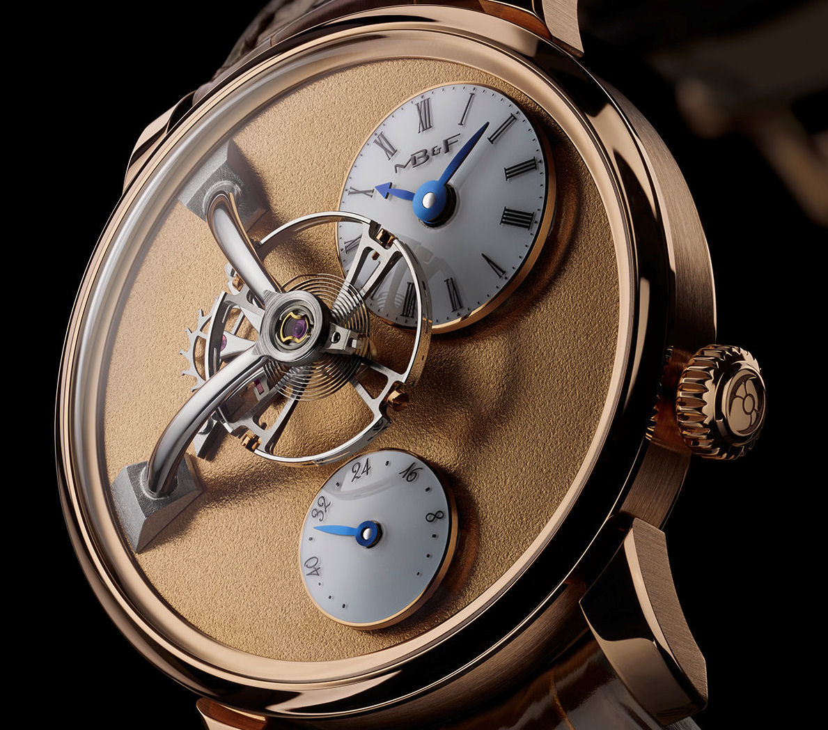 MB&F Legacy Machine 101 Frost