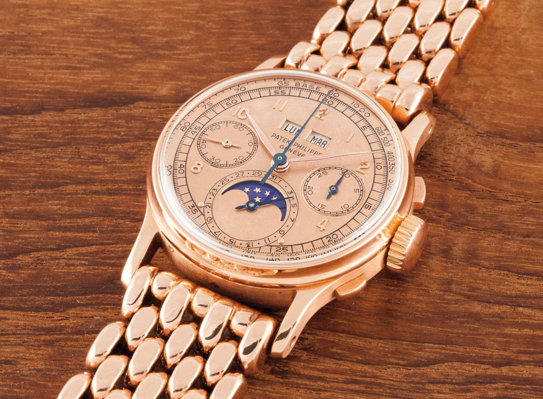 Phillips Geneva Watch Auction One replica Patek Philippe 1518