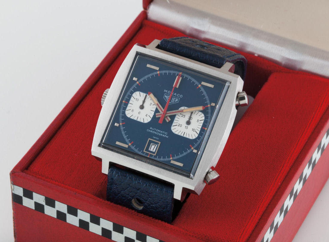Phillips Geneva Watch Auction One Heuer McQueen Monaco