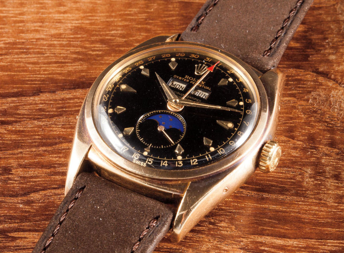Phillips Geneva Watch Auction One Rolex 6062 General Sweeney
