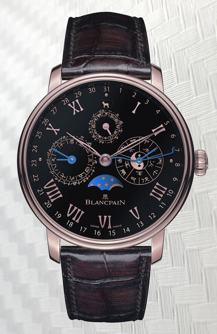 Blancpain Traditional Chinese Calendar for Only Watch 2015
