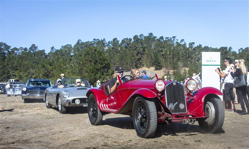 Pebble Beach Tour d'Elegance presented by Rolex 2015