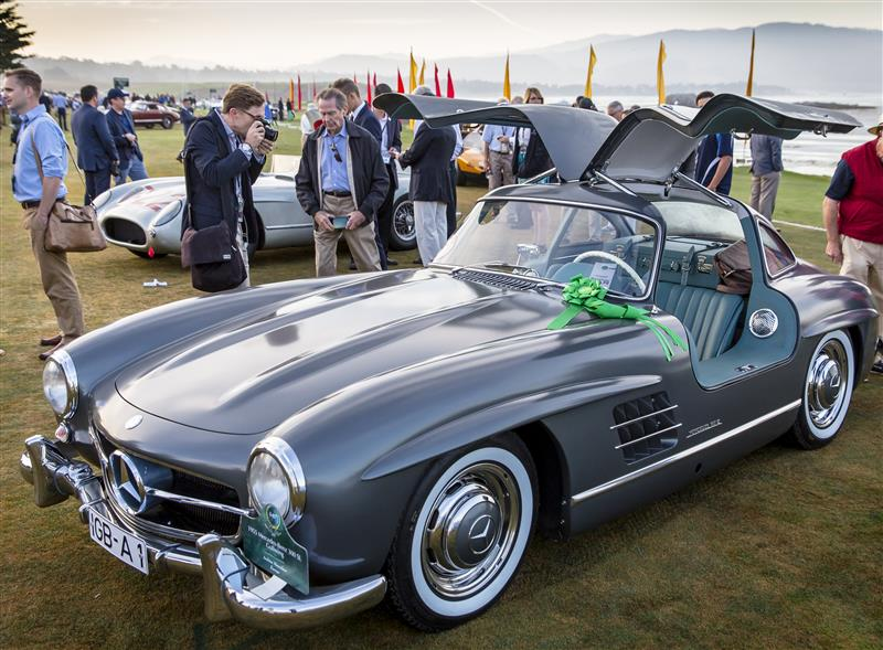 Pebble Beach Concours d'Elegance 2015 Mercedes Gullwing