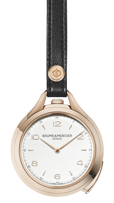 Baume & Mercier Clifton 1830 pocket watch repeater