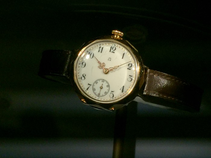 First omega wristwatch