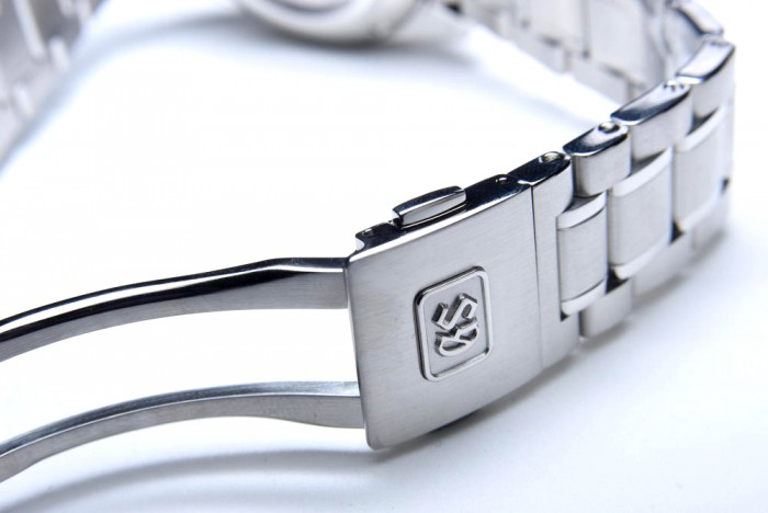 Grand Seiko's three-fold clasp with push button release