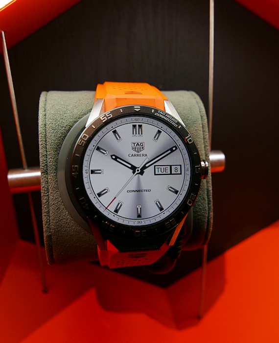 "One of the ""faces"" TAG Heuer has created for the Connected."