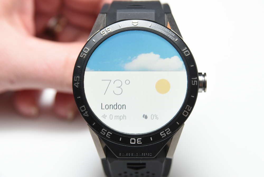 The Connected can also provide weather updates.