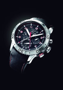 Breguet's Type XXII Flyback Chronograph GMT with a 10Hz escapement