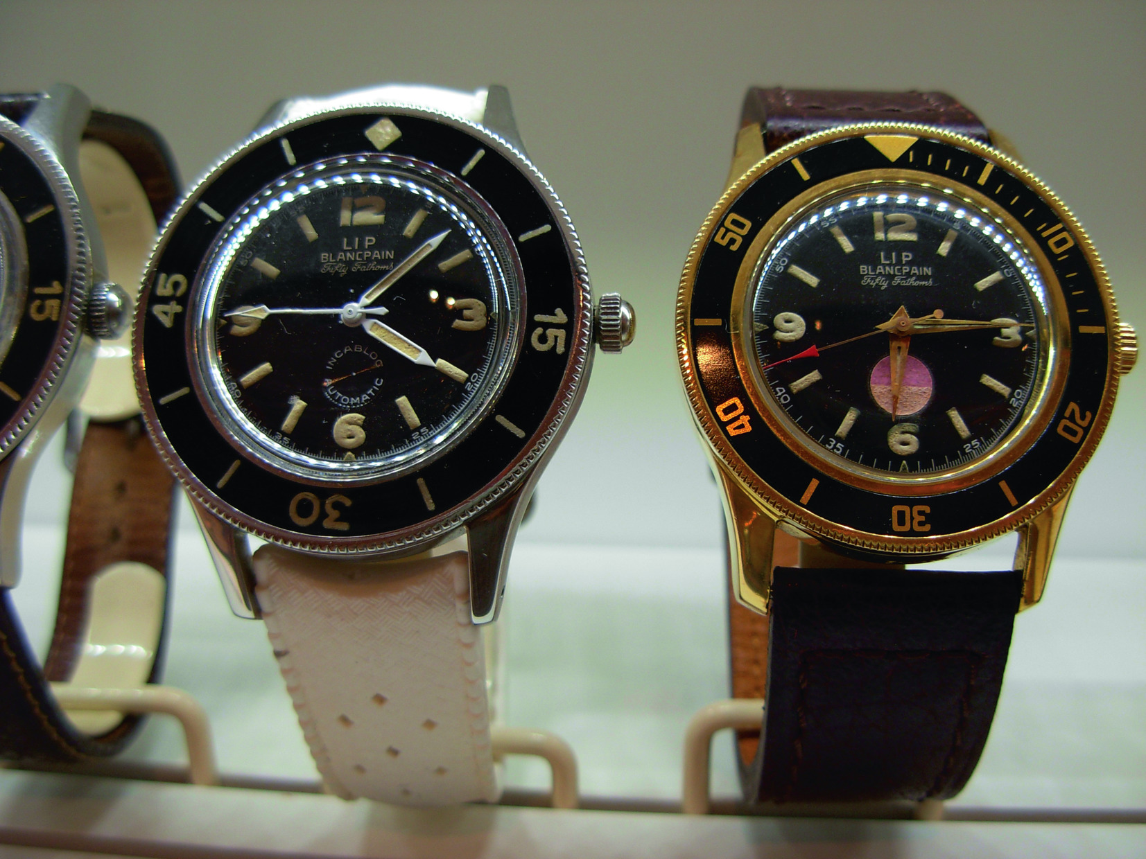 Dossier Brief History Of The Blancpain Fifty Fathoms Revolution