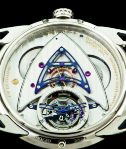 De Bethune's DB25T features a 5Hz, 30-second-rotation tourbillon