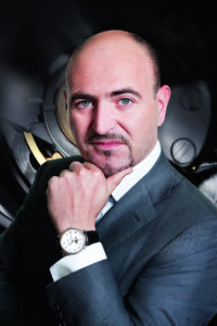 Marc Hayek, CEO of Breguet, Blancpain and Jaquet Droz