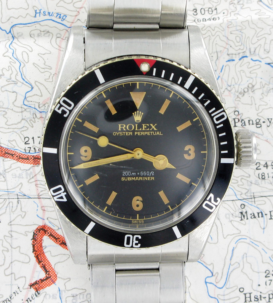 Example of the first edition ref. 6538 with Explorer Dial